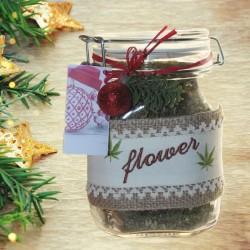 Konopljin cvet - Čaj v kozarcu Fido - 75 g