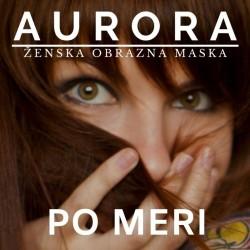 Ženska maska AURORA - Po naročilu