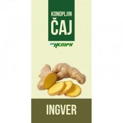 Konopljin čaj - Ingver (vrečka 20 g)