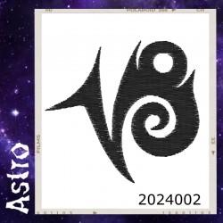Vezenje - Astro - Kozorog - simbol