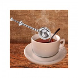 Cedilo za čaj - Okroglo na poteg